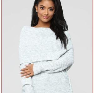 Fashion Nova Winter Storm Sweater Size XL